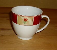 van Well Wellco Design 1 Tasse, mehrfarbiges Tulpendekor