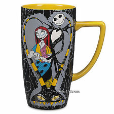 The Nightmare Before Christmas Jack & Sally Ceramic Coffee Cup Mug Disney Store