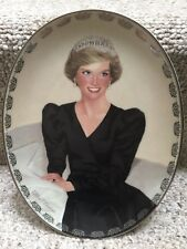 Princess Diana Bradford Exchange Queen of Our Hearts Plate#6 Unforgett Princess