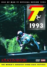 Isle of Man TT - Official Review 1993 (New DVD) A Place in History