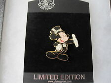 Disney Shopping Happy New Year Series MICKEY MOUSE Tuxedo Top Hat Pin LE 250 NOC