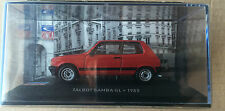 "DIE CAST "" TALBOT SAMBA GL - 1982 "" SIMCA COLLECTION  SCALA 1/43"