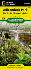 National Geographic Trails Illustrated Map: Adirondack Park, Northville/Raquette