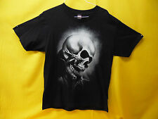 "MARVEL COMICS GHOST RIDER T-SHIRT ""FLAMING SKULL"" COLLECTIBLE TEE (LARGE)"