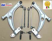 VW PASSAT 3C5 3C2 B6 (05 ) 2 FRONT LOWER WISHBONE ARMS+LINKS+TRACK ROD+RACK ENDS