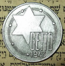 GERMAN WWII UNIQUE COIN FROM OCCUPIED POLAND - 1943 - REPRO 20 M