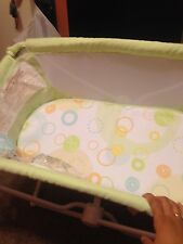 Used once Baby Bassinet Crib