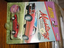 NEW 1/64 JL #16 Johnny Lightning 1969 Ford Mustang MACH 1 Red with a coin
