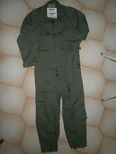 FLIGHT SUIT NOMEX , NEW , 7 SIZE CHOICE ,  GENUINE NEW WITH TAGS OLD STOCK.