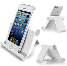 NEW Multi-Angle Stand for Tablets, E-readers and Smartphones, Color:  White