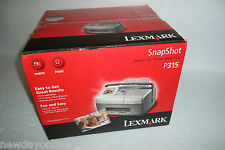 "Lexmark P315 Snapshot Photo Inkjet Printer 2.5"" Screen 4""x6"" 1200dpi 20C0000 NEW"