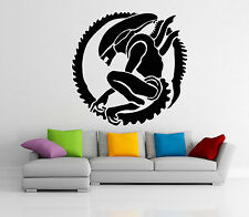 Alien Wall Decal Vinyl Xenomorph Monster Sticker Movie Art Decor Home Mural 42z