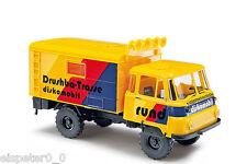 Busch 50231, Robur LO 2002 A » Discoteca-mobile «, H0 Veicoli Modello 1:87