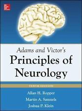 NEW - Adams and Victor's Principles of Neurology 10th Edition
