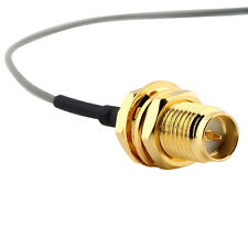 U.FL IPX to RP-SMA female RF Pigtail Cable Jumper for PCI Wifi Card TR