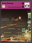 SPA-FRANCORCHAMPS Race Track 24 Hours Le Mans Photo 1979 SPORTSCASTER CARD 63-21