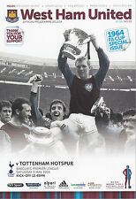 WEST HAM UNITED V TOTTENHAM HOTSPUR 3/5/14 (2013-2014)