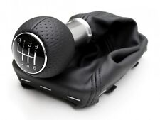 AUDI A4 B6 B7 NEW GENUINE S LINE BLACK LEATHER 6 SPEED GEAR KNOB 8E0863278DGTAV