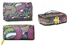 Sonia Kashuk Makeup Bag Train Case Valet Organizer Snake Gift Set of 3