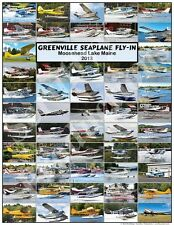 Greenville Seaplane Fly In 2013 - Moosehead Lake Maine - Aircraft Poster