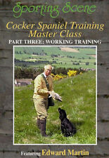 GUNDOG COCKER SPANIEL TRAINING MASTER CLASS PART 3