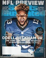 2015 Sports Illustrated New York Giants Odell Beckham Jr Subscription Issue NR/M