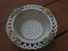 Belleek Irish Pottery Summer 4 Seasons Basket China NIB! Never Displayed!