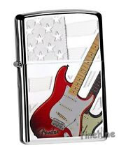 FENDER Guitar & Flag ZIPPO neu+ovp COLLECTION 2015