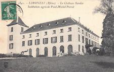 LIMONEST 1841 le château sandar institution agricole Paul-Michel Perret timbrée