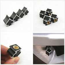Black Ace of Spades Shape Auto Wheel Tire Rim Valve Stem Air Dust Cap For Holden