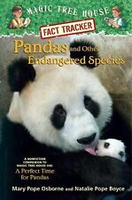 Magic Tree House Fact Tracker #26: Pandas and Other Endangered Species-ExLibrary