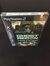 Tom Clancy's Ghost Recon: Jungle Storm PlayStation 2 FACTORY SEALED PS2 Game New