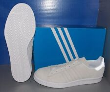 MENS ADIDAS CAMPUS 80S in colors FTW WHITE / FTW WHITE / FTW WHITE SIZE 10.5