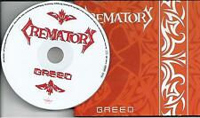 CREMATORY - GREED, CD DIGIPACK SINGLE 2004