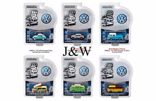 Greenlight V Dub Series 4 VW T2 PICKUP GULF SHELL SET OF 6 29860