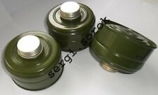 Russian Gas Mask Filter GP-5k 40mm with gas mask box for /gp-5/ gp-7/gp-9, 3pcs