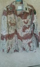 US Army 6-color chocolate chip desert storm jacket 1990 dated