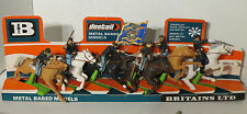 Britains deetail acw union cavalry on display carte rare