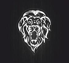 Sticker car decal rasta reggae JAH tribal lion of judah one love rastafarai r3