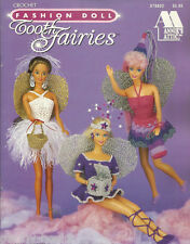 Tooth Fairies Crochet Fashion Doll Dresses for Barbie Clothing Patterns NEW