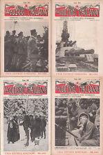 LA GUERRA ITALIANA ed.SONZOGNO LOTTO 47 NUMERI + COPERTINE + INDICI 1916 - 1919