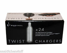 48 MyPressi Twist pressure cartridge 8g N2O whip cream charger N20  2 box 24 myp