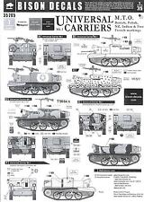 Bison Decals 1/35 BREN UNIVERSAL CARRIER Mk.I Mediterranean Theater