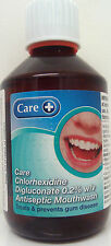 Chlorhexidine Antiseptic 0.2% Mouthwash,Care Brand,300ml, treats gum disease