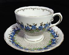 Tuscan Fine English Bone China Cup & Saucer Set Forget-Me-Nots