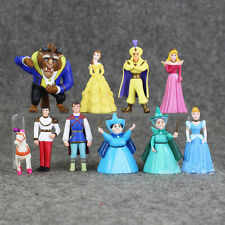 10PCS Bullyland Beauty And The Beast Figures Figurines ToysCake Toppers 5-75cm