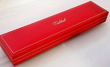 TABBAH Jeweler RED/Gold Trim LONG BOX Bracelet /Masbaha /Watch BARELY USED Mint!