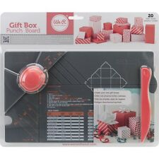 We R Memory Keepers 71334 Gift Box Punch Board NEW