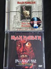 Iron Maiden Beast Over Palladium Cd And DVD Set