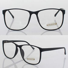 New Fashion Mens Womens Retro Nerd Frames Clear Lens Glasses Eyewear
